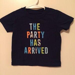 🚼 Infant Party T-shirt  |  Gender Neutral
